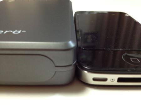 cheero Power Plus 大容量 10000mAh モバイルバッテリー 厚さ