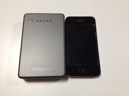 cheero Power Plus 大容量 10000mAh モバイルバッテリー
