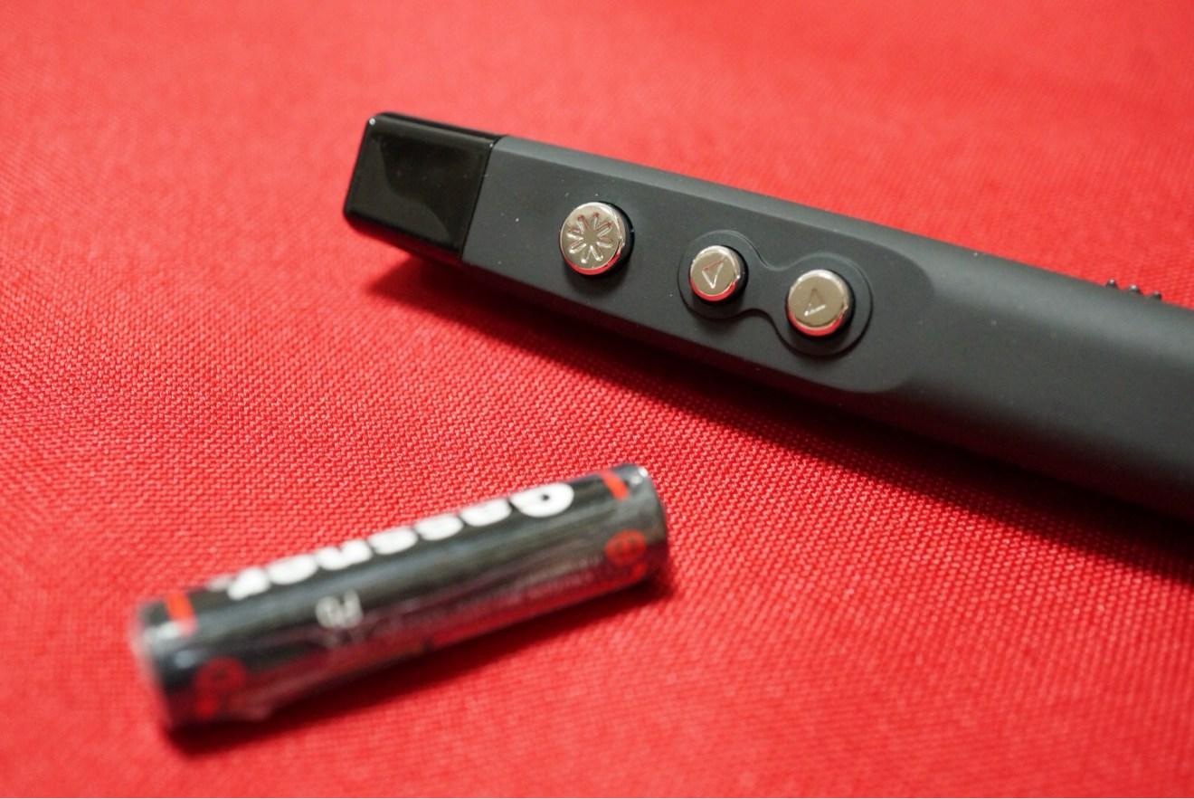ポインタと単四電池