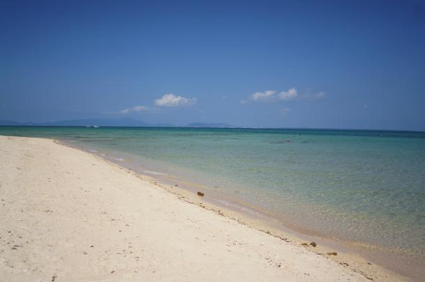 広がる美しい海!