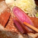 [Å] 渋谷「もと村」の牛かつ絶品!!ミディアムレアの柔らかカツを1度は食べるべし!