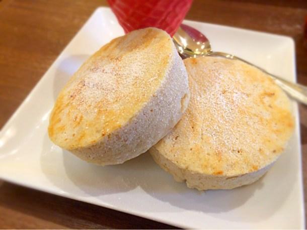 自家製オーガニックパンケーキ