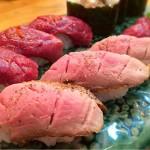 [Å] これはやばい!恵比寿横丁「肉寿司」が超豪華・激ウマ・絶対行くべし・お肉の数々!!