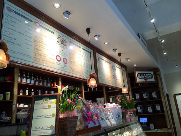 Urth Caffe(アースカフェ) 店内