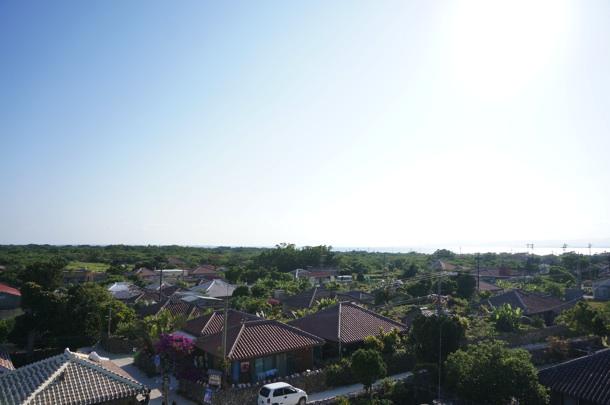 展望台から見た町並み