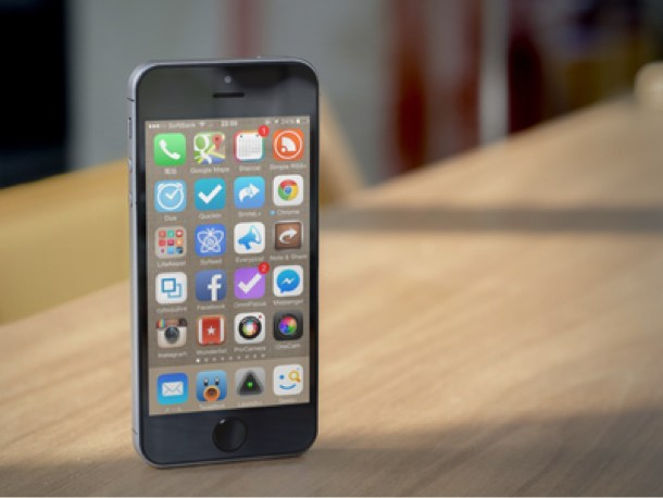 iPhoneホーム画面アプリ