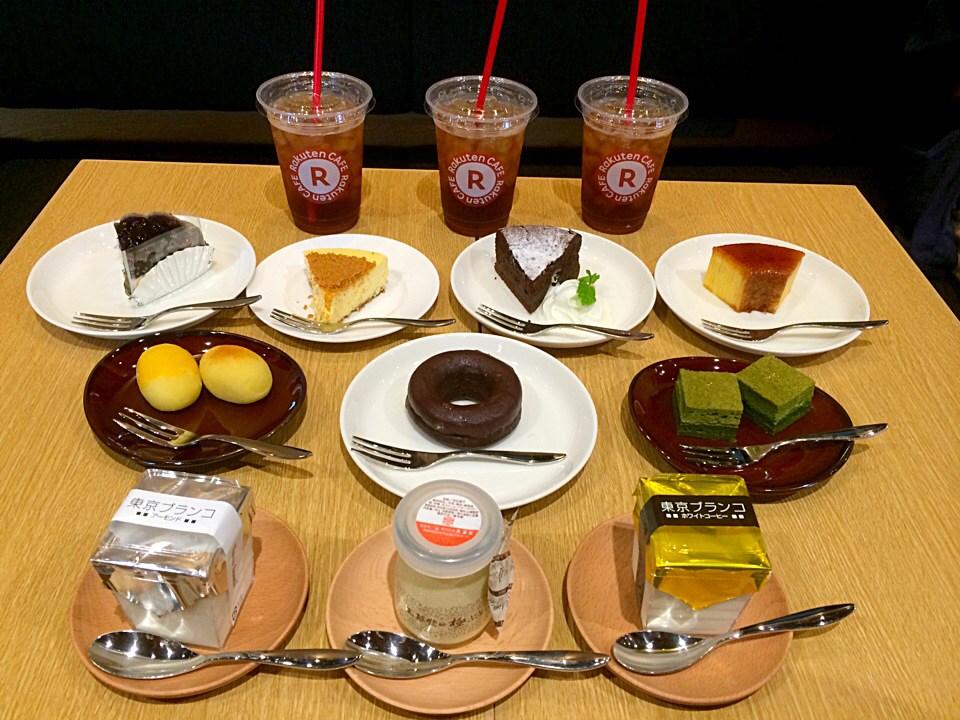 [Å] 楽天カフェが渋谷にオープン!デザートメニュー全制覇した私のお気に入りスイーツベスト3!
