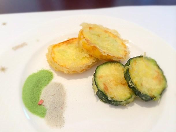 神奈川野菜の天ぷら