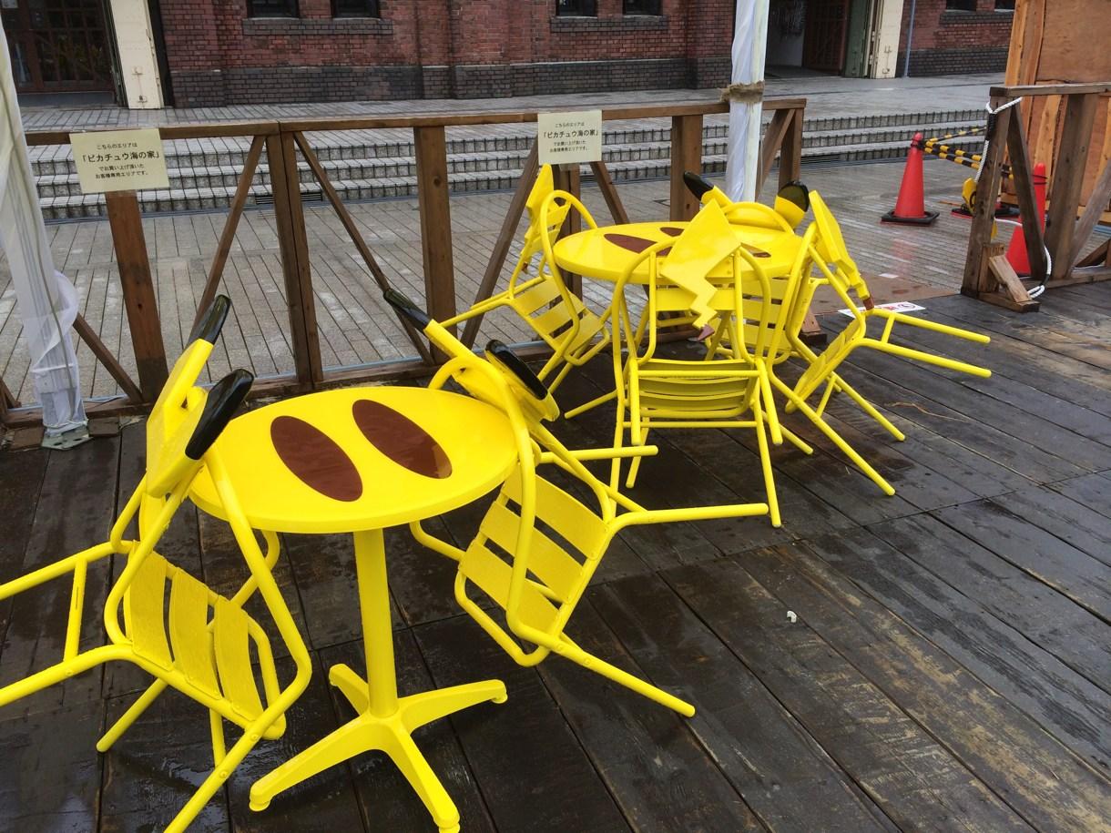 ピカチュウ椅子