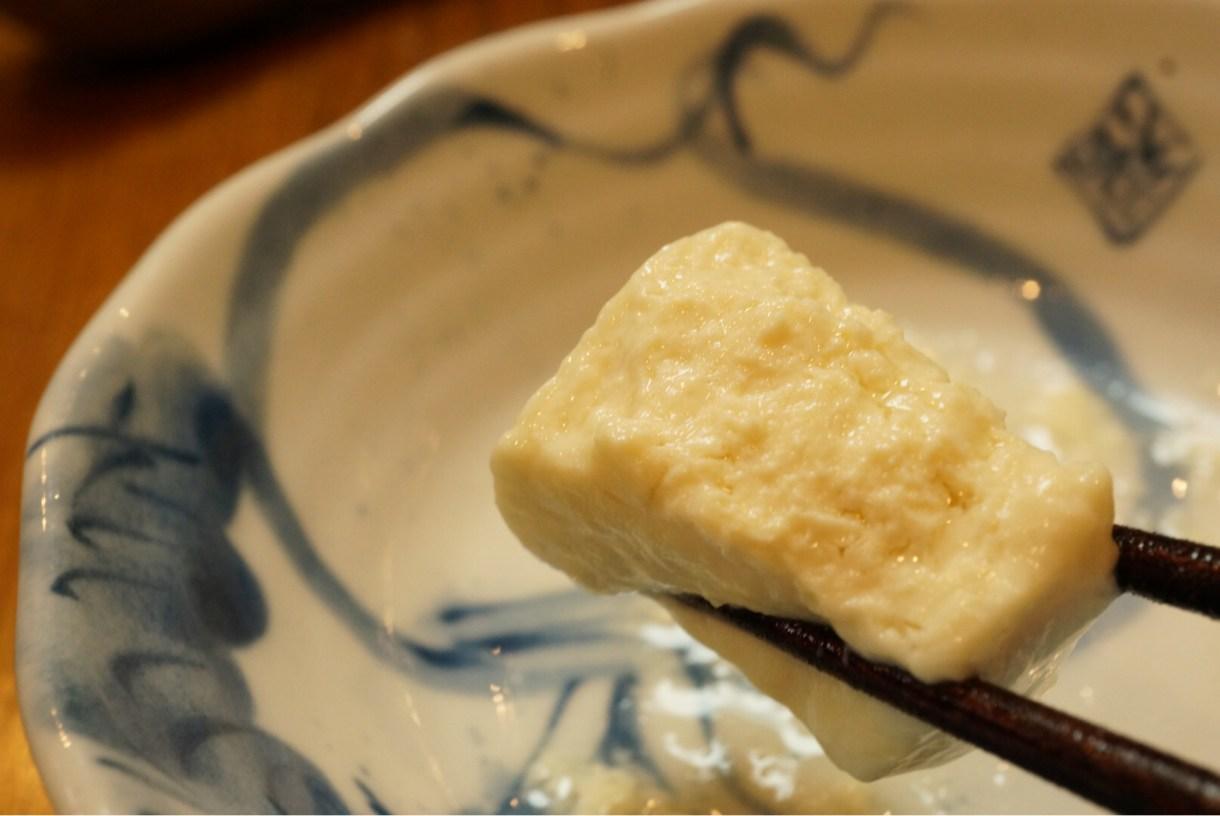 木綿豆腐っぽい印象