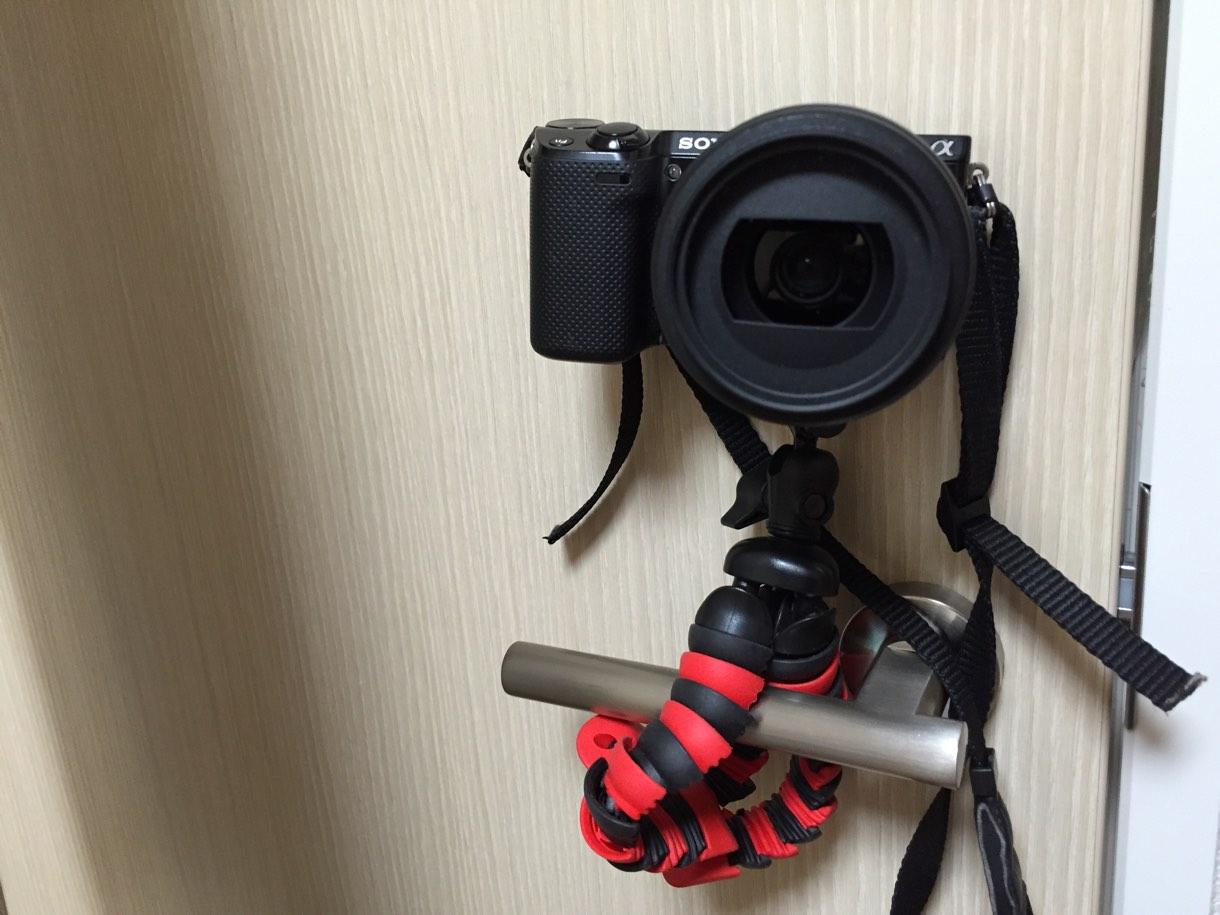 フリーリー+カメラ