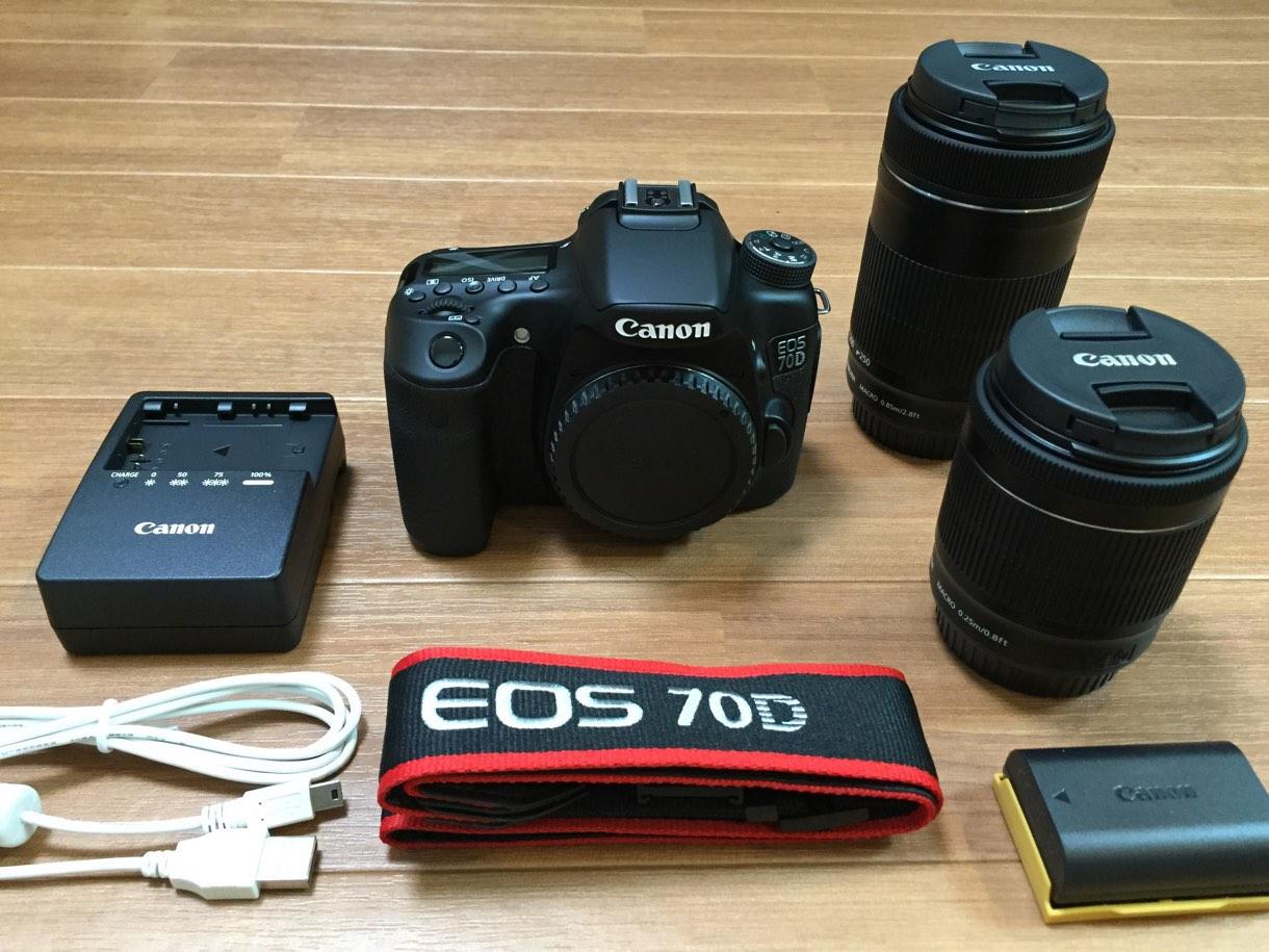 [Å] 愛機NEX-5Rが恐らく水没!これを機に一眼レフ「Canon EOS 70D」ダブルズームキットを購入!!