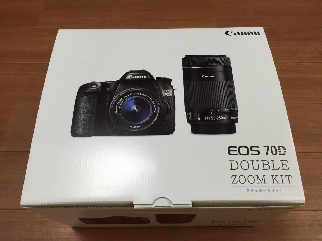 Canon EOS 70D 購入理由