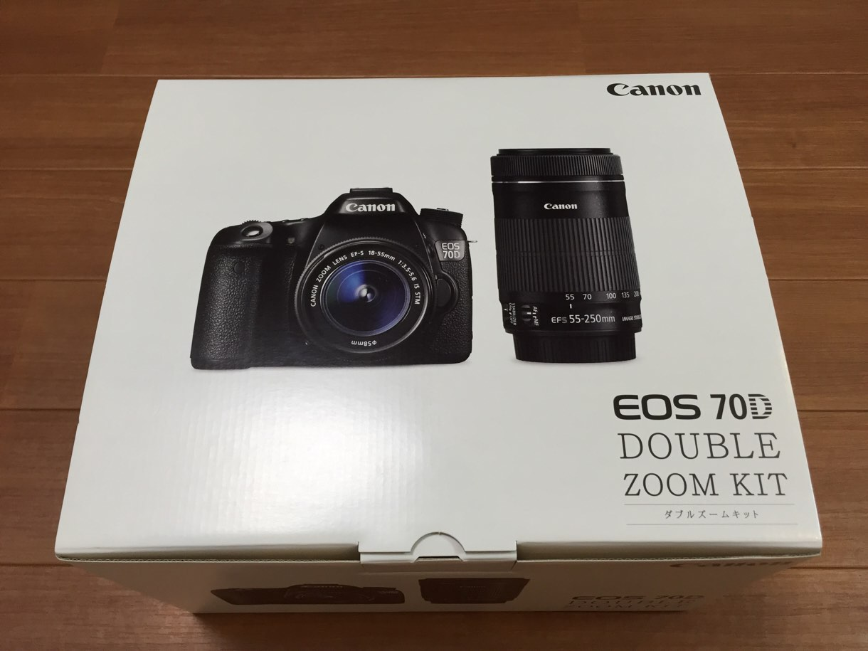 [Å] 一眼レフ新調!CanonとNikonで悩んでいた私が「Canon EOS 70D」を購入した理由