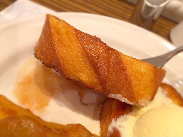 フレンチトーストの厚さ