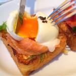 [Å] まるで海外!フレンチトースト専門店 恵比寿「エムハウス」で食べたエッグベネディクトなフレンチトースト