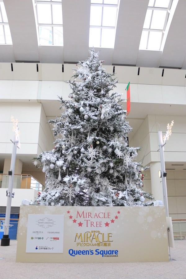 クイーンズのクリスマスツリー