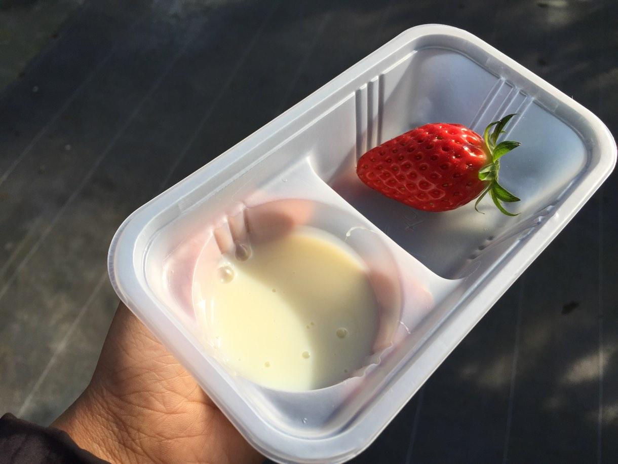 練乳なし、味を変えて練乳