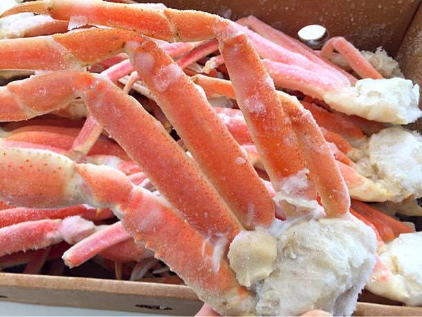 食べ応えのありそうな蟹