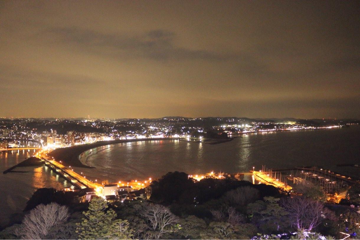 湘南の夜景