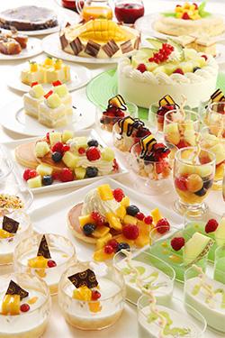 横浜ベイシェラトン「Sweets Parade」メロン&マンゴー