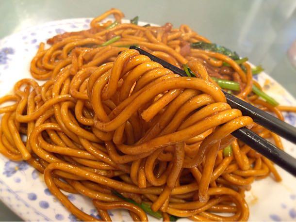 上海焼きそば 太麺