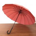 [Å] 和傘に惚れた!強風に耐えると評判のグラスファイバー 16本骨ジャンプ傘を激安700円で買ってみた!