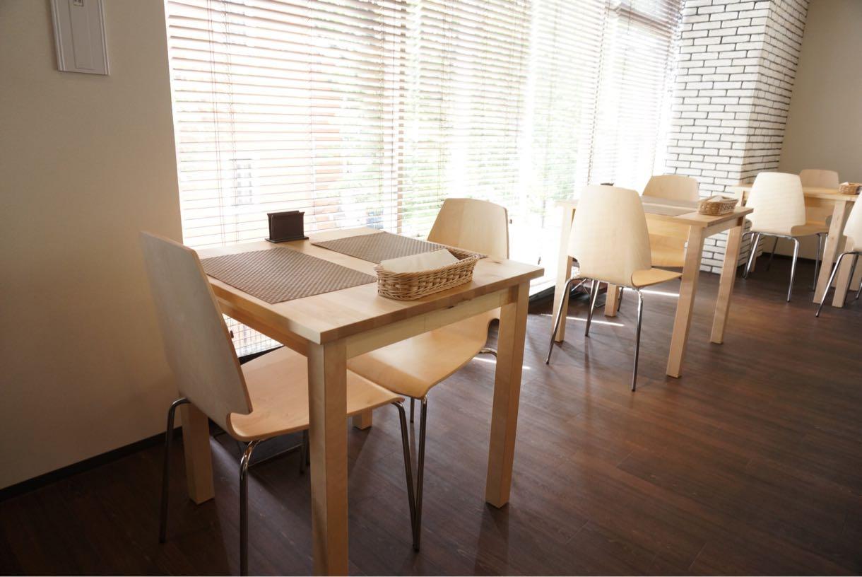 ロカボカフェテーブル席