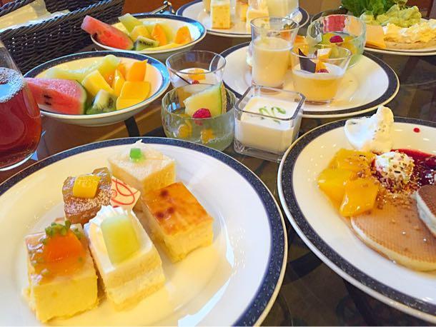 横浜ベイシェラトン メロン&マンゴー「Sweets Parade」2015