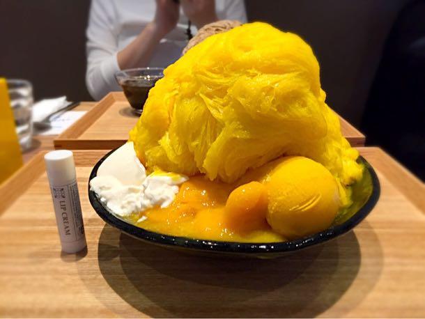 マンゴーかき氷 比較