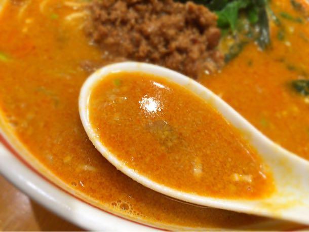 担々麺のスープ