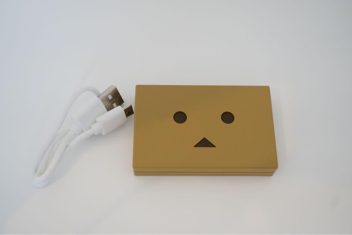 Power Plus DANBOARD Block 軽量・可愛い・超小さい モバイルバッテリー