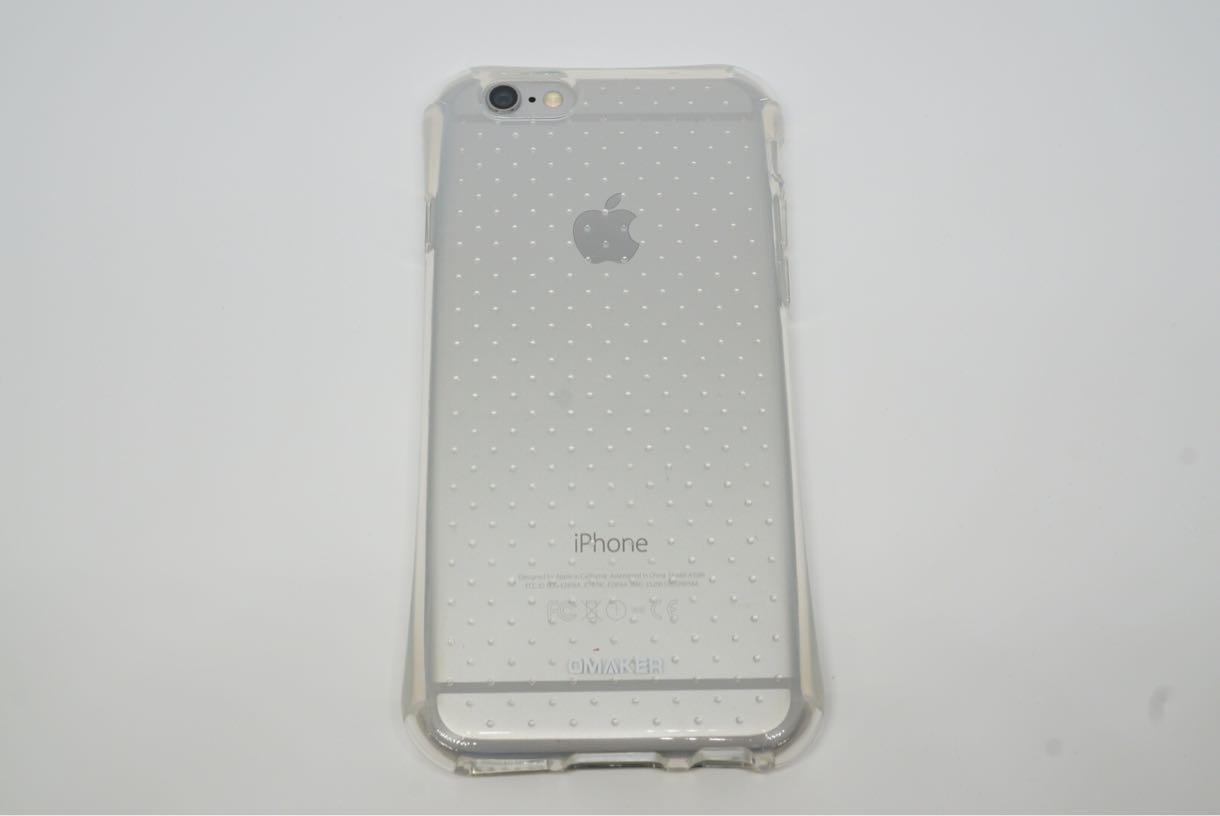 Omaker iPhone6 TPUソフトスマホケース 裏側デザイン