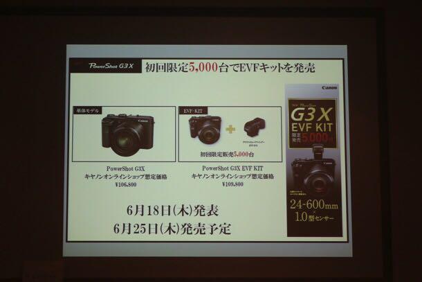 初回限定5,000台 EVFキット発売!