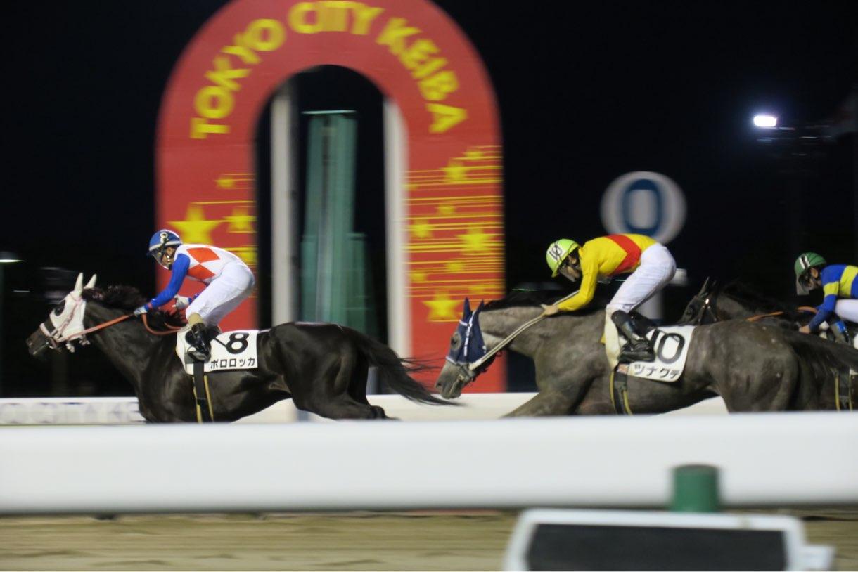 Canon PowerShot G3 Xと競馬場で走る馬