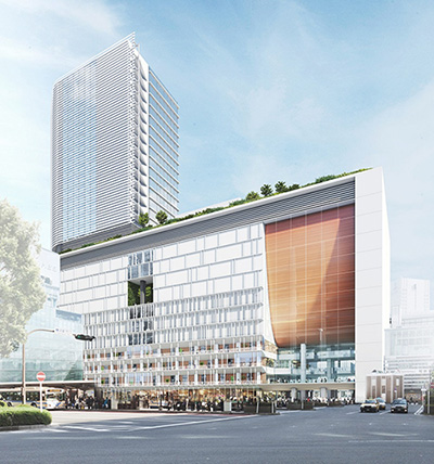 横浜駅西口駅ビル計画(仮)