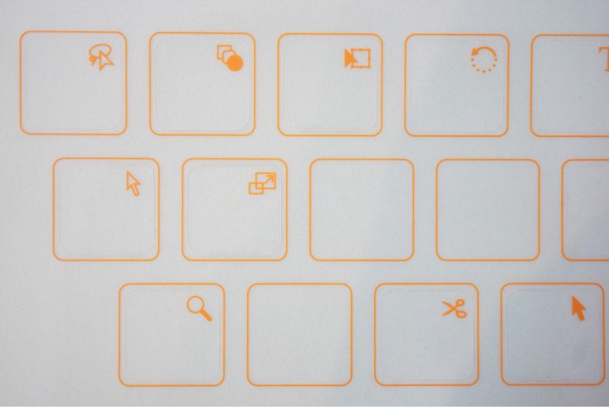 Illustrator のショートカットステッカー