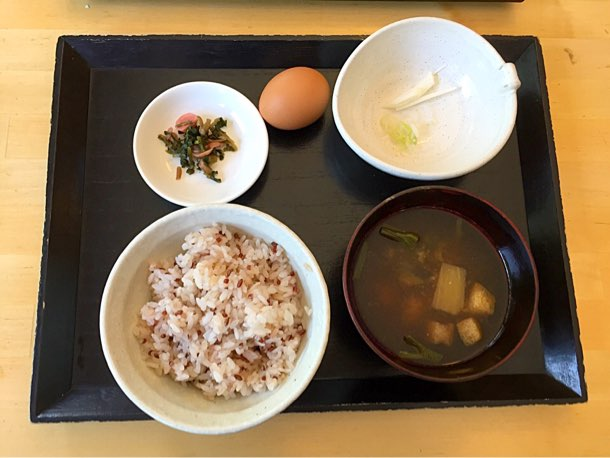 卵かけごはん 味噌汁定食 500円