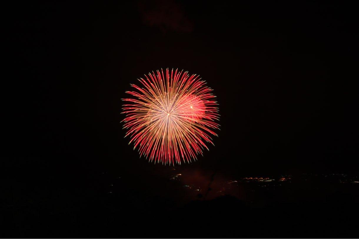 さがみ湖プレジャーフォレスト 打ち上げ花火