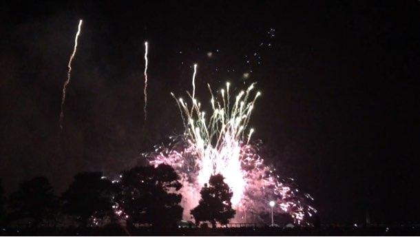 神奈川新聞花火大会2015 臨港パーク