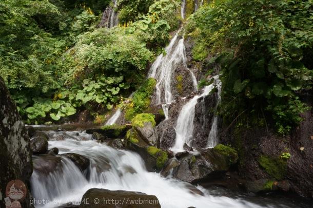 吐竜の滝 写真