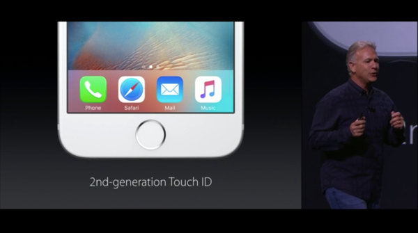 2d-generation Touch ID