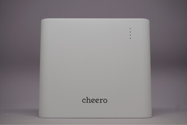 アウトドアで使える!cheero Power Plus 3 Premium 20100mAh