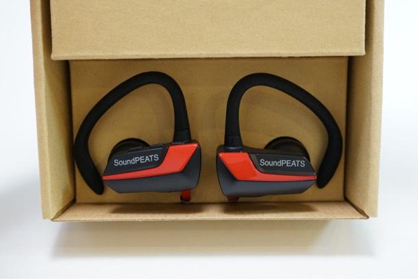 soundPEATS Q9 Bluetooth ワイヤレスイヤホン 箱を開けた時の感想