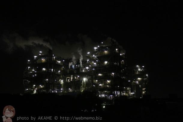 工場夜景No.1人気「昭和電工(扇町)」
