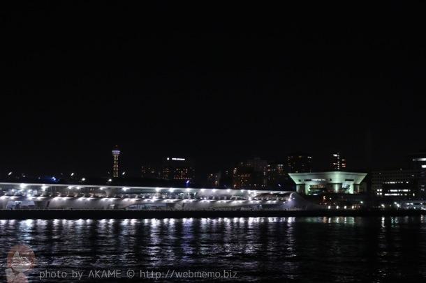 大さん橋のライトアップ