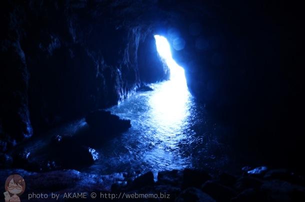 聖域の岬「青の洞窟」