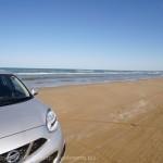 [Å] 能登観光 砂浜を車で走れる「千里浜なぎさドライブウェイ」が爽快!