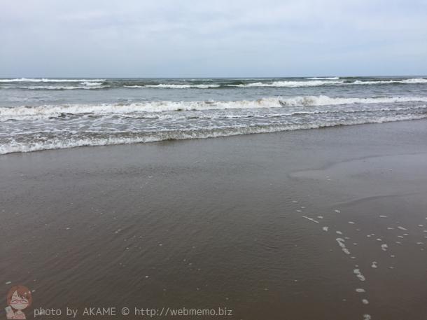 波の激しい日本海