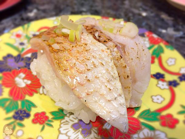 炙りのどぐろ握り寿司